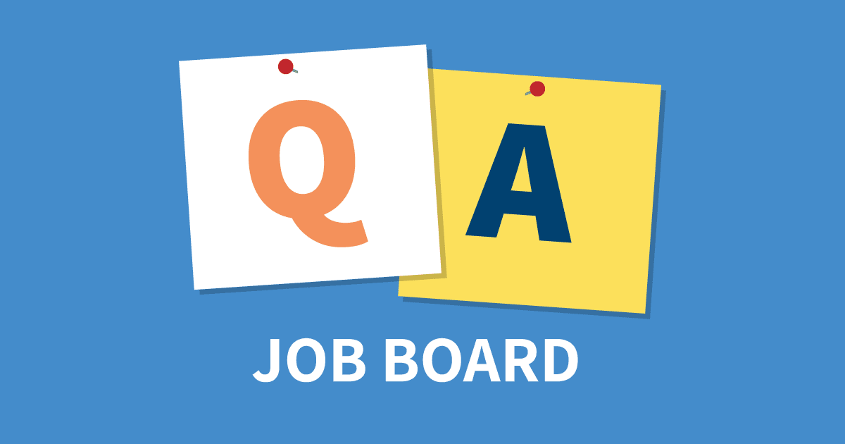 qa job board